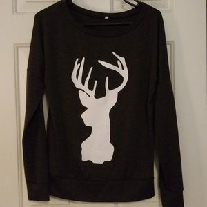 Womens Buck Sweatshirt
